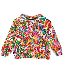 Romey Loves Lulu Sweater RAINBOW SPRINKLES Romey Loves Lulu Sweater RAINBOW SPRINKLES Afbeelding wijzigen