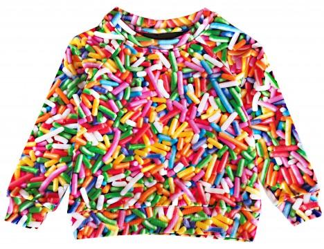 Romey Loves Lulu Sweater RAINBOW SPRINKLES
