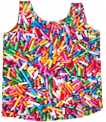 Romey Loves Lulu Tank Top RAINBOW SPRINKLES Romey Loves Lulu Tank Top RAINBOW SPRINKLES