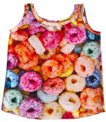 Romey Loves Lulu Tank Top FRUIT CEREAL Romey Loves Lulu Tank Top FRUIT CEREAL