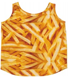 Romey Loves Lulu Tank Top FRIES Romey Loves Lulu Tank Top FRIES