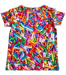 Romey Loves Lulu T-shirt RAINBOW SPRINKLES Romey Loves Lulu T-shirt RAINBOW SPRINKLES