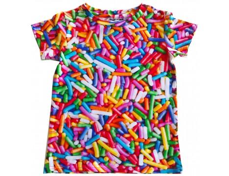 Romey Loves Lulu T-shirt RAINBOW SPRINKLES