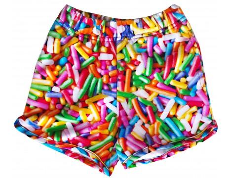 Romey Loves Lulu Shorts RAINBOW SPRINKLES