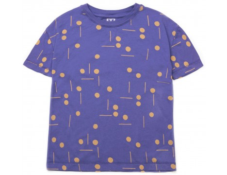 Barn of Monkeys Printed SS T-shirt DOTS