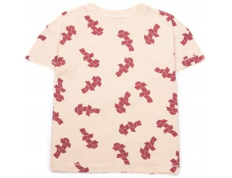 Barn of Monkeys Printed SS T-shirt TANGRAM