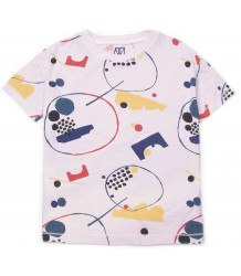 Barn of Monkeys Printed SS T-shirt GRAPHIC SHAPES Barn of Monkeys Printed SS T-shirt GRAPHIC SHAPES