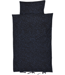 Soft Gallery Dekbedhoes Aop SNEEUW LUIPAARD Soft Gallery Bedcover - Blue Leopard