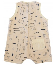 Barn of Monkeys Printed Babygrow GAMES Barn of Monkeys Printed Babygrow GAMES