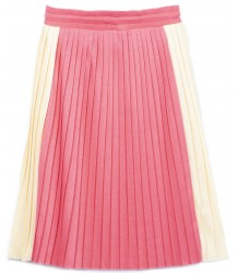 Barn of Monkeys Pleated Midi Skirt Barn of Monkeys Pleated Midi Skirt coral