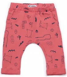 Barn of Monkeys Printed Baby Pants GAMES Barn of Monkeys Printed Baby Pants GAMES