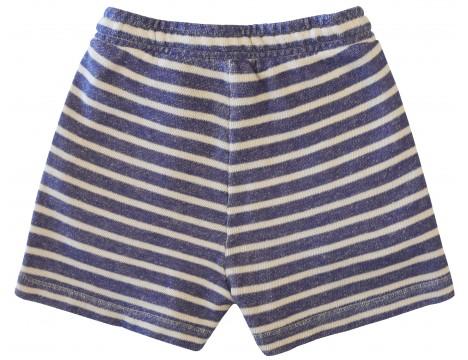 Barn of Monkeys Shorts w/Creased Belt STRIPES