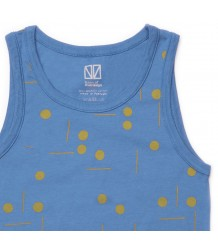 Barn of Monkeys Printed Tank Top DOTS