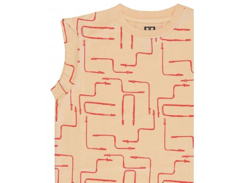 Barn of Monkeys Printed T-shirt Dress ROPES