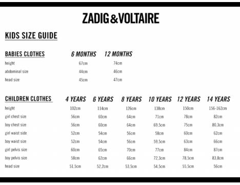 Zadig & Voltaire Kids Tee Boxo TATTOO