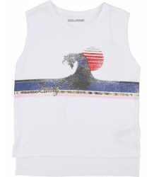 Zadig & Voltaire Kids Sleeveless T-shirt WAVE Zadig & Voltaire Kids Sleeveless T-shirt WAVE