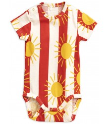 Mini Rodini SUN STRIPE aop SS Body Mini Rodini SUN STRIPE aop SS Body
