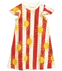 Mini Rodini SUN STRIPE aop Wing Dress Mini Rodini SUN STRIPE aop Wing Dress
