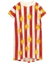 Mini Rodini SUN STRIPE aop Long Dress Mini Rodini SUN STRIPE aop Long Dress