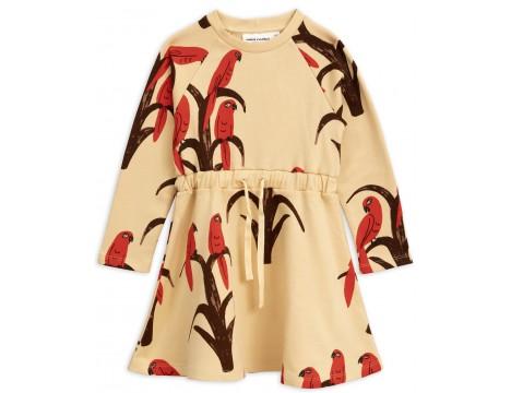 Mini Rodini PARROT aop Sweat Dress