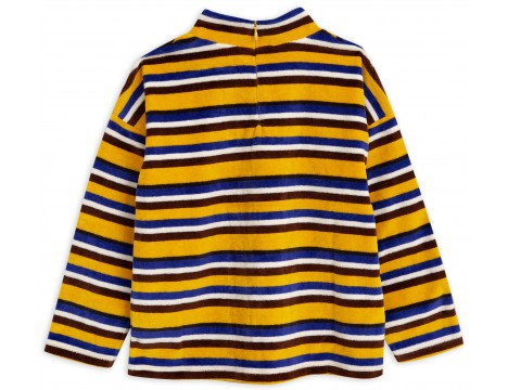 Mini Rodini Velours STRIPE Sweater