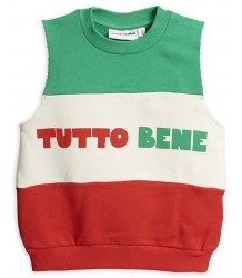Mini Rodini TUTTO BENE SS Sweatshirt Mini Rodini TUTTO BENE SS Sweatshirt