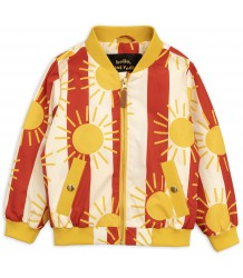 Mini Rodini SUN STRIPE Baseball Jacket Mini Rodini SUN STRIPE Baseball Jacket
