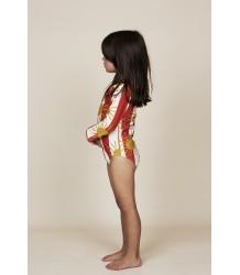 Mini Rodini SUN STRIPE aop LS Swimsuit Mini Rodini SUN STRIPE aop LS Swimsuit