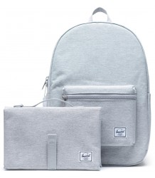 Herschel Settlement Sprout CROSSHATCH Herschel Settlement Sprout CROSSHATCH light grey