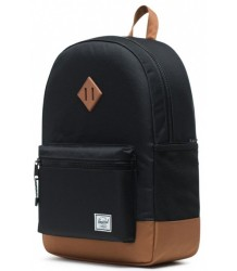 Herschel Heritage Backpack Youth XL SADDLE Herschel Heritage Youth XL  brown with black