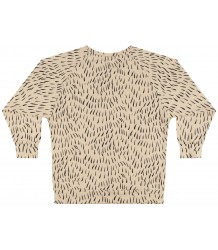 Mingo Long Sleeve Tee FUR PRINT Mingo Long Sleeve Tee FUR PRINT ecru