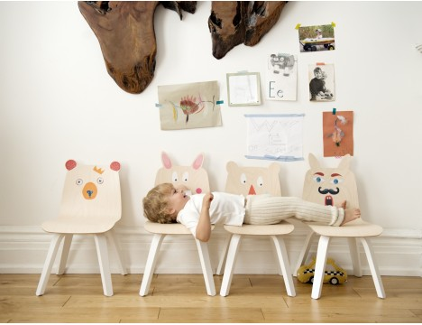 Oeuf NYC Rabbit Play Chairs - Set of 2