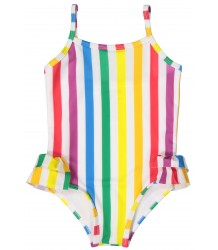 Hugo Loves Tiki Swimsuit RAINBOW STRIPES Hugo Loves Tiki Swimsuit RAINBOW STRIPES