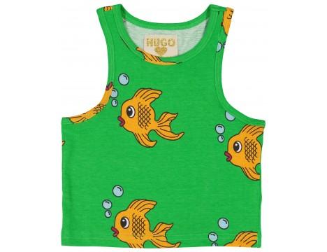 Hugo Loves Tiki Tank Top GREEN FISH