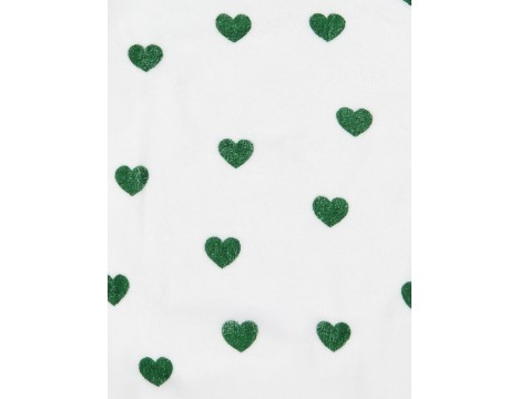 Hugo Loves Tiki Terry Sweatshirt GREEN HEARTS