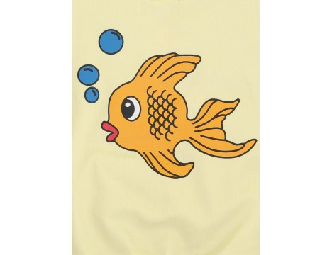 Hugo Loves Tiki Short Sleeve Sweatshirt FISH CHEST