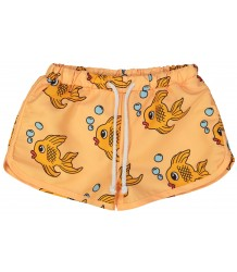 Hugo Loves Tiki Swim Trunks YELLOW FISH Hugo Loves Tiki Swim Trunks YELLOW FISH