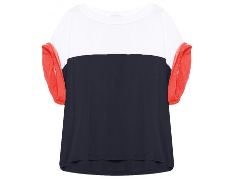 Indee Egypte T-shirt COLOUR BLOCK