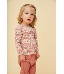 Soft Gallery Bella Baby T-shirt Aop UIL Roze Soft Gallery Baby Bella T-shirt aop OWL