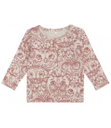 Soft Gallery Bella Baby T-shirt Aop UIL Roze Soft Gallery Baby Bella T-shirt aop OWL mahogany