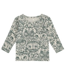 Soft Gallery Baby Bella T-shirt aop OWL Soft Gallery Baby Bella T-shirt aop OWL green