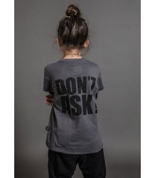 Nununu DON'T ASK T-shirt Nununu DON'T ASK T-shirt iron