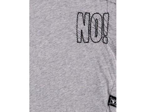 Nununu Embroidered NO! Hemmed Shirt