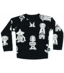 Nununu Sweatshirt aop TRIBAL DANCERS Nununu Sweatshirt aop TRIBAL DANCERS