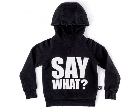 Nununu SAY WHAT? Fluffy Hoodie