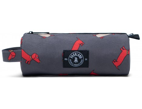 Parkland Highfield Small Pencil Case RED HOT DOG