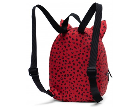 Parkland Little Monster Backpack RED LEOPARD