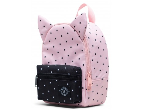 Parkland Little Monster Backpack POLKA DOTS QUARTZ