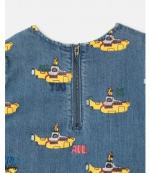 Stella McCartney Kids DENIM Dress YELLOW SUB MARINE - LIMITED EDITION Stella McCartney Kids DENIM Dress YELLOW SUB MARINE - LIMITED EDITION
