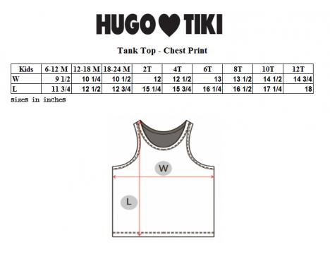 Hugo Loves Tiki Tank Top WAY TOO CUTE